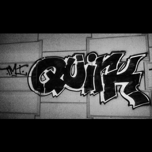 Quirk Nasty #tmicrew #tmi #quirk #graffiti #simple #bombing (Taken with Instagram)
