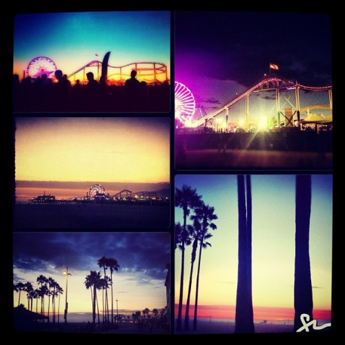 Weeks 5-10 of the Pier Concerts (minus 1 wk) #twilightdanceseries #santamonica #sunsets #bikerides #bikegang #pierconcerts #pier #livemusic #summertime #summernights #summer2012 #2012  (Taken with Instagram)