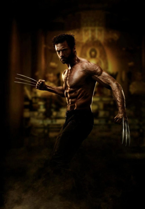 First official photo from 'The Wolverine' is a whole lot of eye candy if you like the dudes Via