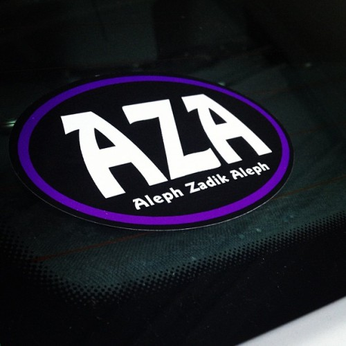 peacelovetriangles:  Got that new bumper sticker #aza 🚘 (Taken with Instagram)