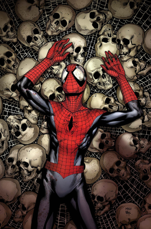 ladman:  Spiderman by Steve Mcniven