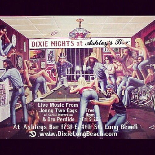 Be there this Friday! #dixie #dixienight #longbeach #chopper #bobber #caferacer #bagger #beer #lonerangersmc @dixielongbeach @longbeachtradingco  (Taken with Instagram)