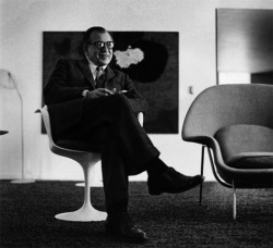 analogdialog:  Portrait of Eero Saarinen | 1958