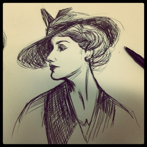 Gibson girl inspired (Taken with Instagram)