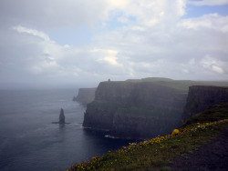 travelingcolors:  Cliffs of Moher | Ireland (Submitted and taken by http://defeatedpics.tumblr.com/, Thank you!)