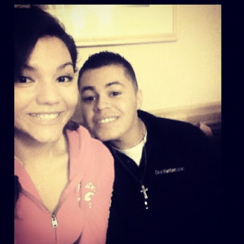 ^_^ &he makes me happy  (Taken with Instagram)