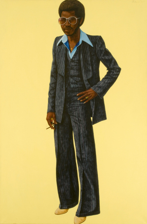 "veebar2:  ""Noir,"" 1978, by Barkley Hendricks"