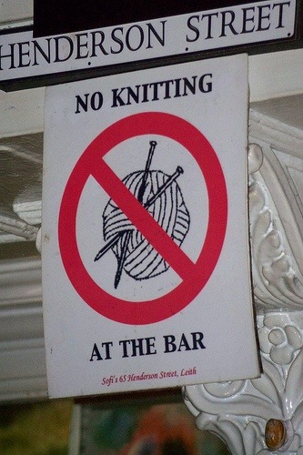 glitzknitsboutique:  Fuck your rules, brah!