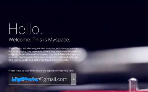 "New Mypace?! Sign me up! Myspace has announced an entirely new website ""from scratch,"" and allow me to be the first one there with my stashed-away trippy glitter background-tiles. Because Twitter and Tumblr are being swiftly overtaken by the vast population of 12-year-olds, Internet n00bs, and otherwise mainstreamers, this is exactly what I've been waiting for. Huzzah! New refuge for an innovative Internet existence! On a less society-bitter note… I'm really happy for Myspace, and I applaud this valiant effort to keep the infamous, forgotten network alive. I think it will be the next big Internet phenomenon within 7 years or so, and all the hipsters will eventually have to evacuate again. But for now, w00t 4 rEtUrN oF da SCENE KIDS <33 x"