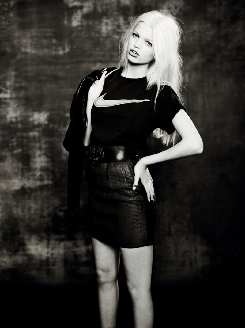 Daphne Groeneveld shows us her rock and roll side for the fall issue of Muse Magazine.