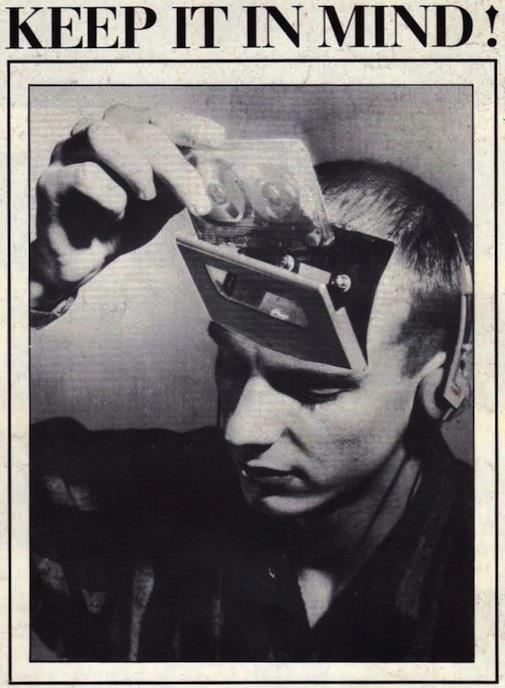 "crystaldivision:  Brian Eno in the 1970s: ""The tape is now the music"""