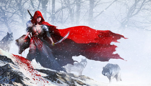 A.M. Inspiration Red Riding Hood by AdmiraWijaya