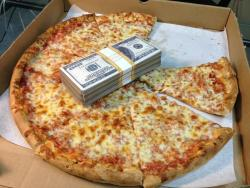 idknowlol:  eat pizza get money