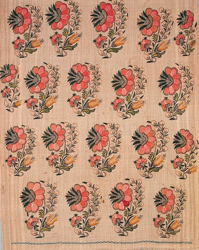Embroiderd length, early 19th century Turkey