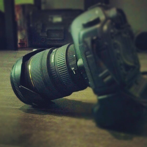 Got my 24-70 back from sigma today.  (Taken with Instagram)