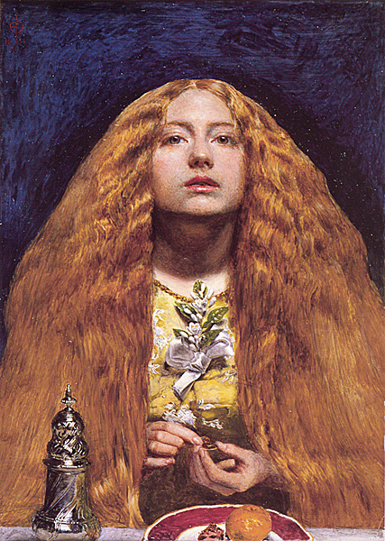 rachierachy:  The Bridesmaid- John Everett Millais (1851)
