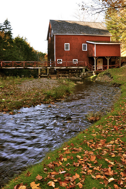 Old Timey Grist Mill  by Brianna Scott (Brianna S.)