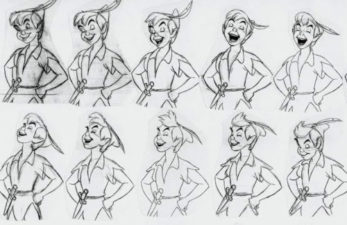 disney-concept-art:  Peter Pan