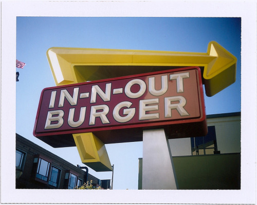 polaroidsf:  How many days in a row can you eat In-N-Out? I've been to this one.