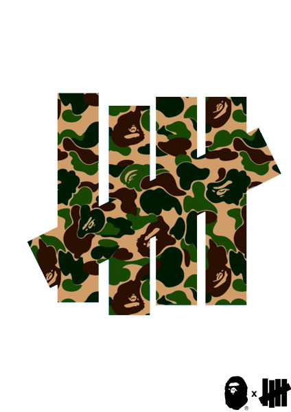 mvchines:  Bape x Undefeated edit by me