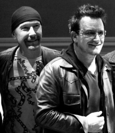 The Edge & Bono Neverland 2012