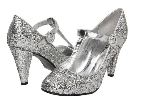(via Gabriella Rocha Shelby2 Silver Glitter - Zappos.com Free Shipping BOTH Ways) so these silver glitter shoes come in my size and are on sale? and THEY COME IN WIDE SIZES!?