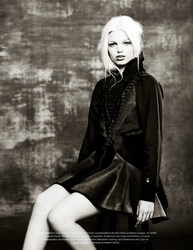 Daphne Groeneveld: A Fresh Start - Muse #31 by Mariano Vivanco, Fall 2012