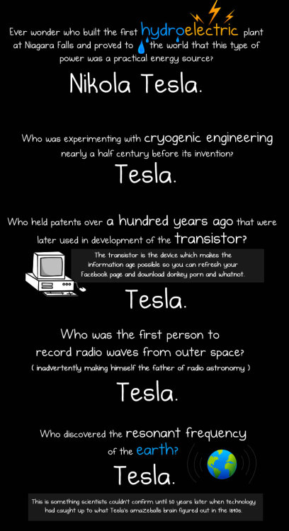 why Nikola Tesla was the greatest geek who ever lived.