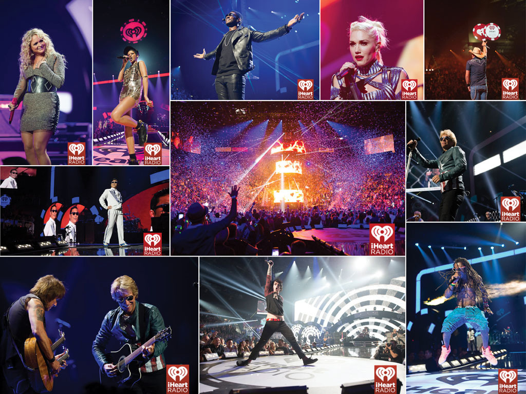 In Case You Missed It: iHeartRadio The iHeartRadio Music Festival was two nights of amazing music. Big thanks to all the celebs and musicians who put on a great show. Check out these snapshots from night one's performances!