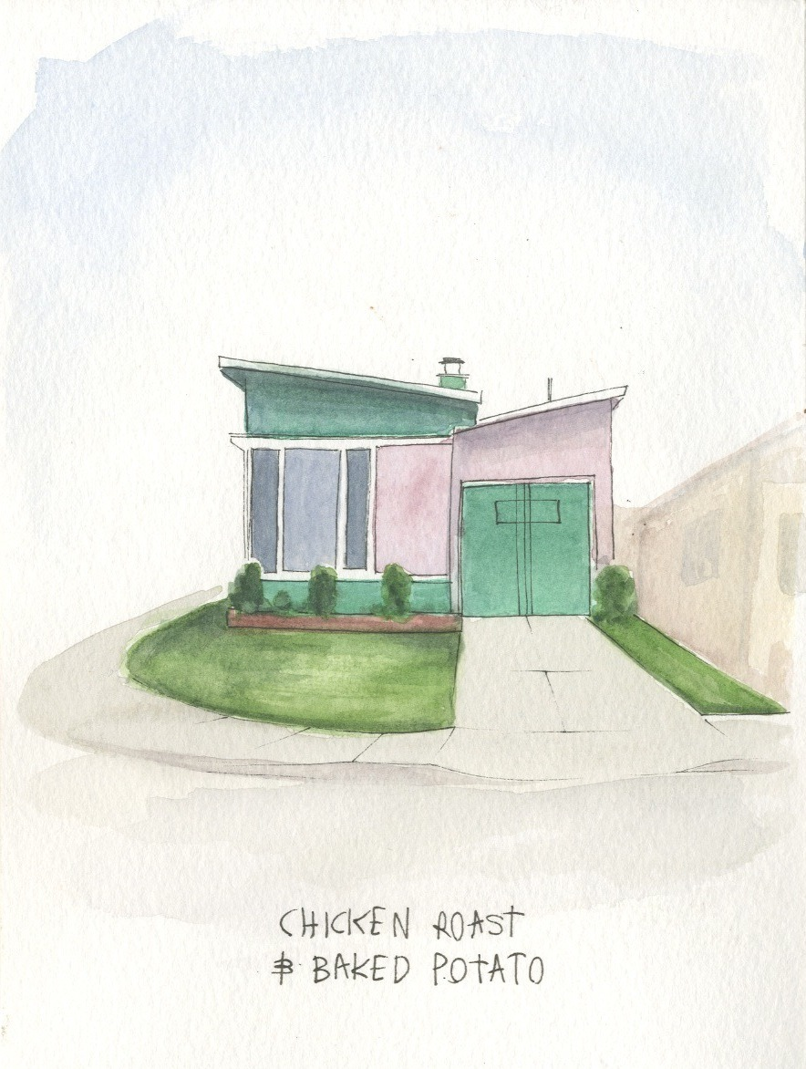 "SF HOME & SNACK 6"" x 8""WATERCOLOR & INK ON WATERCOLOR PAPERPHOTOGRAPHY: AUSTIN KAMPS - - these: etsy.com/shop/mallorylucillemore art: malloryroseart.tumblr.commore photography by austin: flickr.com/austinkamps  comments, questions or commission: message me"