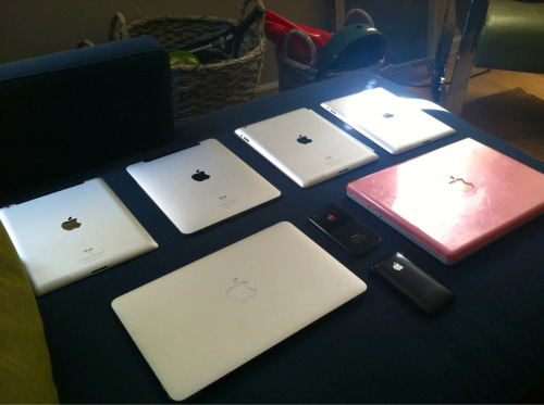 I don't think we have enough Apple products in this house..