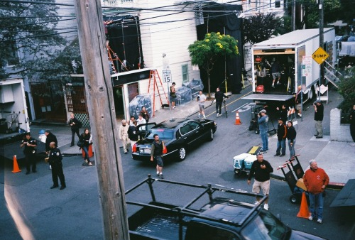 New Woody Allen movie that was being filmed outside my window