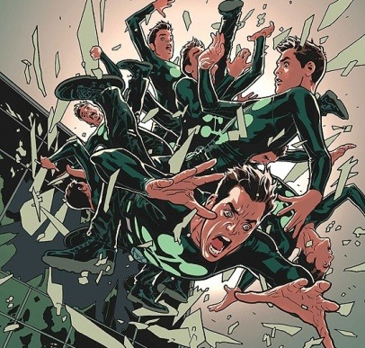 "marvelfacts:  Jamie Madrox (Multiple Man) has the ability to create duplicates, or ""dupes"", of himself. He is able to reabsorb those dupes as well. The absorption process integrates the memories, experiences, and skills gained by the dupe, and is therefore learned by Madrox. As such, he's previously sent dupes out into the world to acquire a vast amount of knowledge and skill in a variety of fields. Therefore, Madrox has passed the bar entrance examination to become a lawyer, doctor, private investigator, a monk, a trained agent of both SHIELD and HYDRA, an Olympic gymnast and much more. Madrox is also a master of martial arts since his dupes have studied hand to hand combat and has mastered Muay Thai kickboxing, Judo, Krav Maga and Kung Fu. Additionally, he is able to speak a wide variety of languages."
