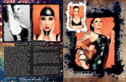 sneak peek of my feature in The Cats Meow Magazine. Go get yourself a copy for latex goodness, interviews and corset delights Only a handfull left xox Louella http://thecatsmeowmag.com/