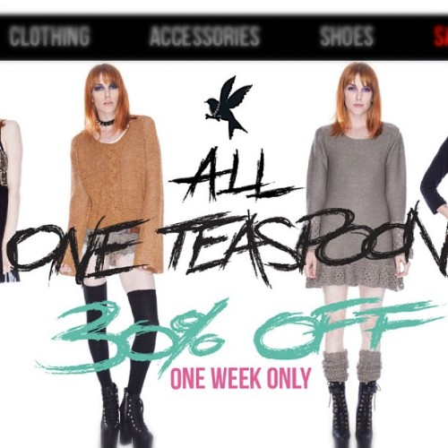 Fawk sakes! All @oneteaspoon_ is on sale!!  (Taken with Instagram at www.dollskill.com)