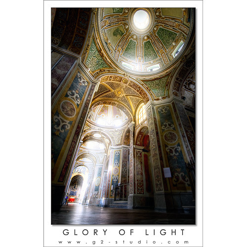 HDR Glory of Light - Basilica di S. Paolo Maggiore by Giuseppe Parisi on Flickr.
