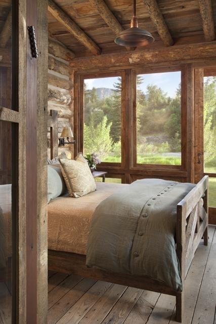bedroom in the ranch