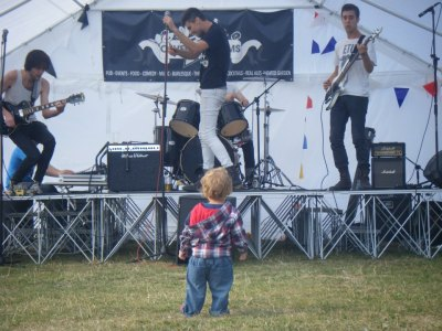 Check out Frenetics inspiring a new generation of young rockers at Stockwell Festival 2012! It was a really fun day. When he toddled off elsewhere, there was an audience behind him as well! Click the photo for a full gallery of the day by Plainview Media. At the gig we showcased some recently composed material under consideration for inclusion on a new EP that we plan to record later this year. Hopefully we will find a good time and studio space before Christmas to get it down somewhere. A lot of songs have been inspired by our recent move to the capital from Leeds and discovering all sorts of new sights and sounds. So far we've checked out Thorpe Park, tonnes of museums and plenty of bars in the East and in Soho (especially bass player Tom!).
