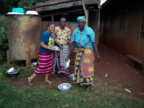 Cooking Fish with MamaI live on a family compound. Mama and Baba live in the main house. I have my own house and my 2…View Postshared via WordPress.com
