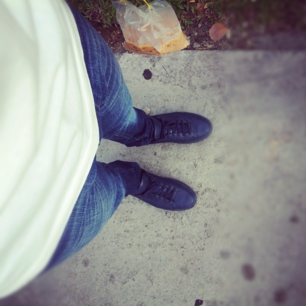 #acne #commonprojects #ootd #tehpeng lol  (Taken with Instagram)