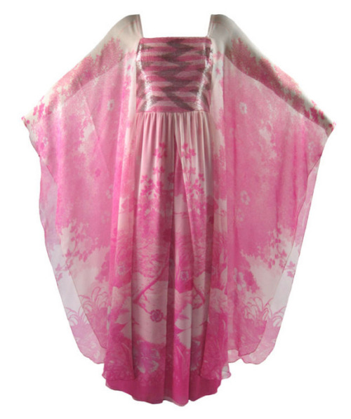 Dress Hanae Mori, 1970s 1stdibs.com
