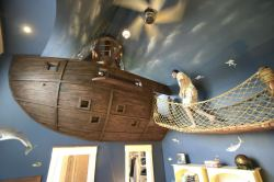thegirlwiththefeathertattoo:  Pirate Ship Bedroom By Kuhl Design Build LLC