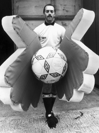 Bruce Grobbelaar shows a safe pair of hands