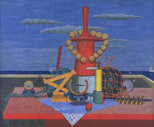 Edward Wadsworth, 1928, Regalia