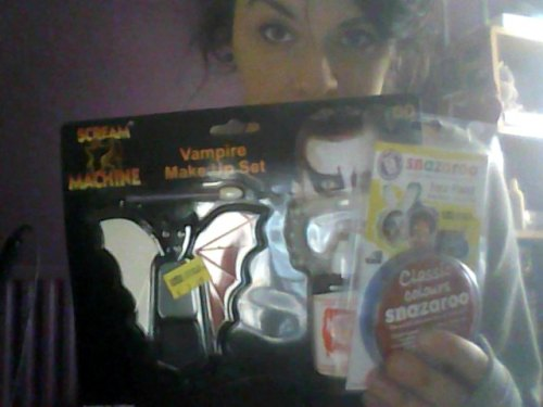 I bought face paint because I am a sad sack of shit.Please don't judge me.