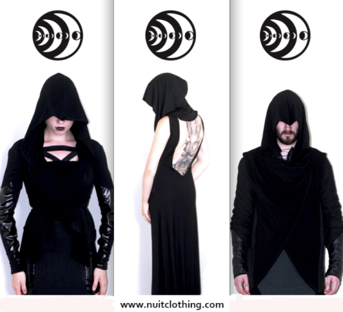 crescentmoon666:  New Site Coming Soon: NuitClothing.com