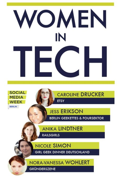 TOMORROW! SOLD OUT! http://socialmediaweek.org/blog/event/women-in-tech/