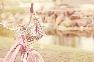 I used to be the girl with the pink bicycle…