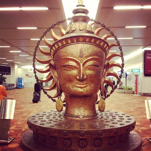 India airport 9/25/12 (Taken with Instagram)