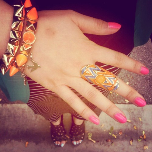 #accessories #fashion #pink #pastel #colourful #instafashion #instadaily  #ootd #photography #photooftheday  (Taken with Instagram)